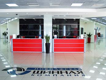 Офис Поволжской шинной компании в Тольятти, Solo Office interiors